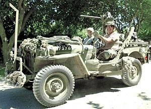 Military Vehicle Collectors Club gathers near Lodi for meeting