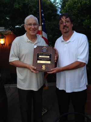 Lodi Lions Club honors members with fellowship award