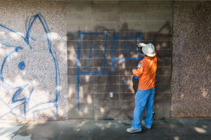 Lodi's American Legion Park targeted by graffiti spree