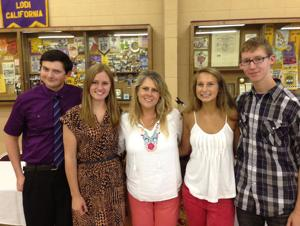 Lodi Lions Club awards scholarship to students