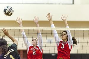 Volleyball: Flames off to a sizzling start with win over Titans