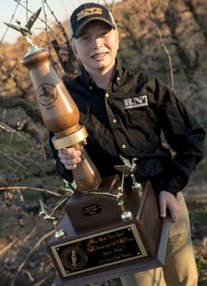 Acampo's Ryan Sherbondy wins world championship in duck calling