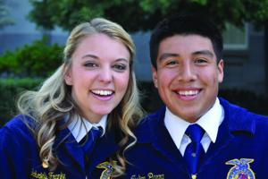 FFA program nurtures new outlook on life for Galt High School student Julian Parra