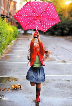 Conquering rainy days