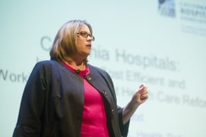 Health executive Anne McLeod at Lodi Leadership Forum: Hospitals help control costs