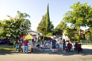 Eastside Lodi neighbors mingle at National Night Out