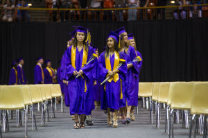 Class of 2013 seniors go mostly formal for their graduations