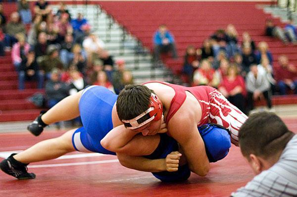 Lodi takes 13 of 14 weight divisions in wrestling win over rival Bear Creek