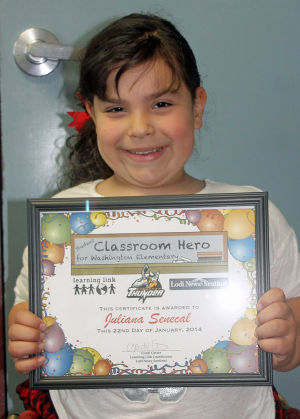 Washington Elementary School Classroom Heroes
