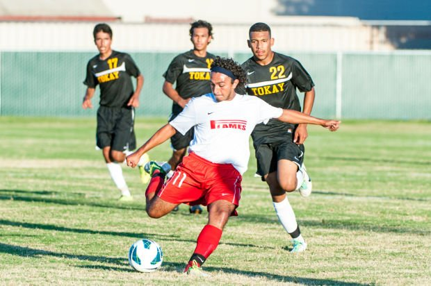 Lodi Flames' Christian Ochoa wins San Joaquin Athletic Association's MVP Midfielder award