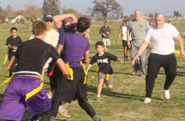 Lodi churches play their first 'Turkey Bowl'