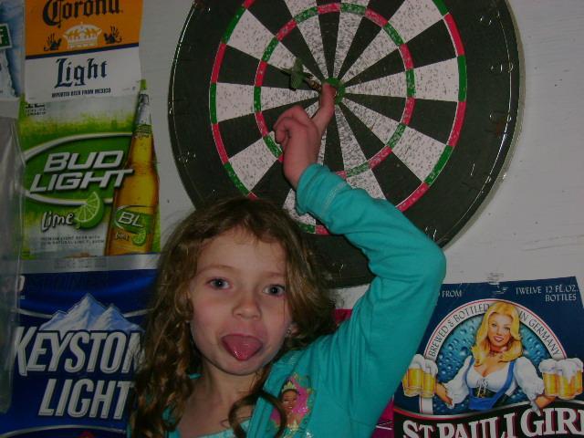 1st double bullseye