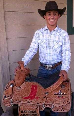 Clements cowboy Clayton Biglow cuts it at nationals