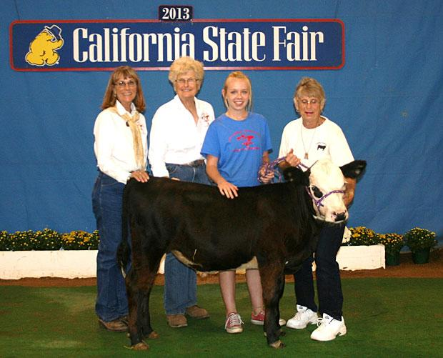 San Joaquin/Stanislaus County Cattlewomen attend State Fair