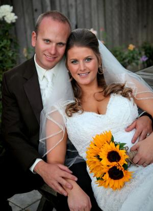 Megan Johnson and Jeffrey Hust married in October at Oak Ridge Winery