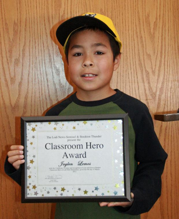 Lodi Seventh-day Adventist Elementary School names Classroom Heroes