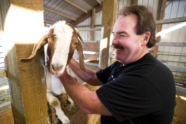Mick Founts has drive to help kids — human and goat