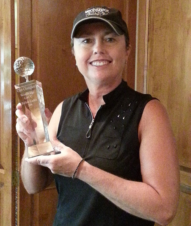 Strong finish gives Carolyn Hoff Woodbridge Golf and Country Club women's title