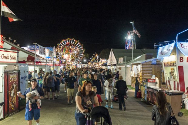 Lodi Grape Festival lights up the night