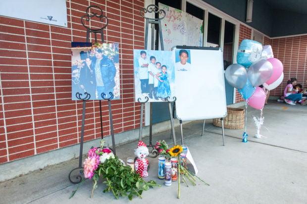 Vigil for the Miranda family