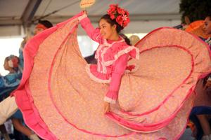 Mexican folk dances bring color to the Lodi Grape Festival