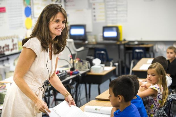 Some local teachers are sharing contracts, classes