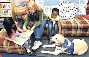 Lodi Unified school's reading program has gone to the dogs