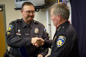 Lodi Police officers honored for DUI arrests, saving another officer's life