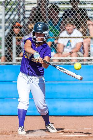 Softball: Korina Krueg's clutch double in 7th lifts Tigers over Bruins in playoff opener