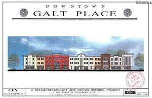 Downtown Galt senior project on docket