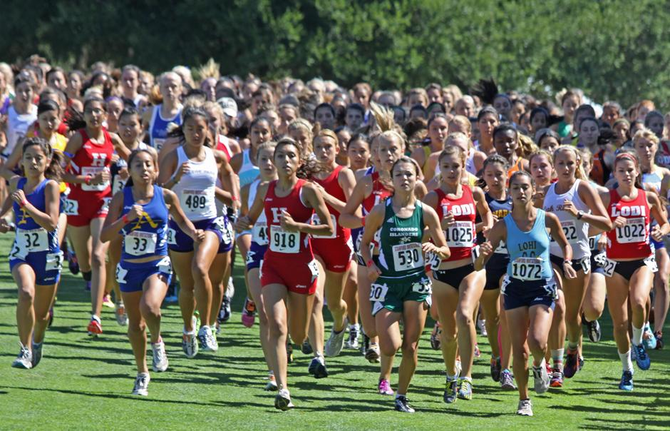 Lodi Flames girls eighth at Stanford Invitational cross country meet