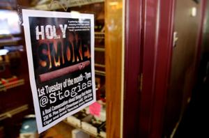 Local pastor Tim Stevenson invites public to join him for a cigar