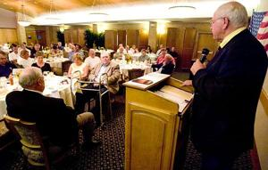 Leadership prayer breakfast addresses challenges to Christianity