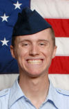 Air Force Airman Logan Trackwell