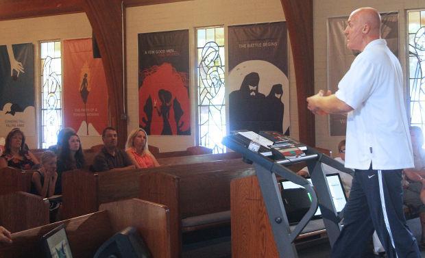 Emanuel Lutheran Church lead pastor Chris Townsend helps members get Fit-4-Life