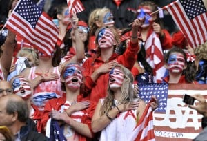 U.S. women scoring big with local soccer fans