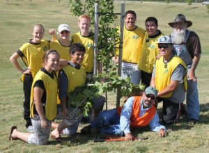 Mormons helped in recent Tokay High School beautification