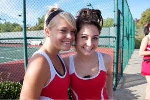 Sierra Valley Conference tennis tournament has 'super' ending for Warrior tandem