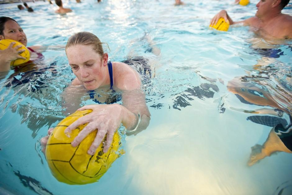 Sink or swim: Water polo provides a rush