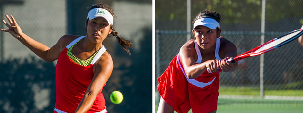 Barajas sisters to face off for girls tennis singles crown
