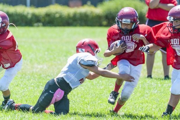 Lodi Junior Flames host youth football jamboree