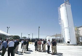 Corn syrup plant opens up in Lodi