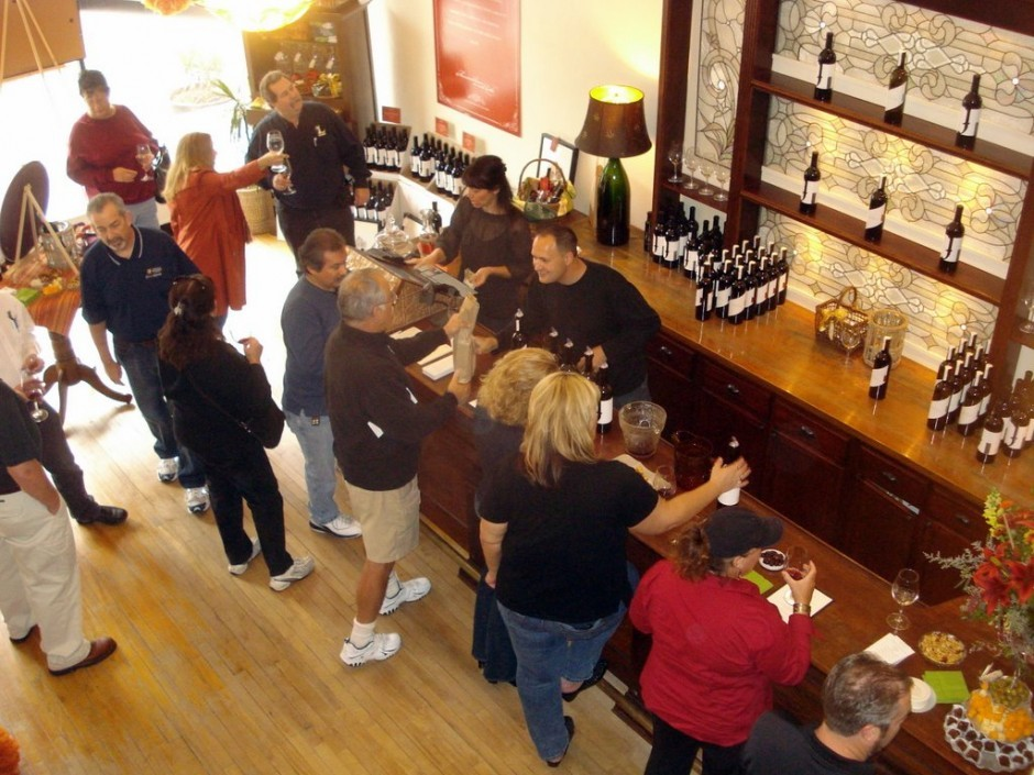 Jeremy Wine Company's tasting room
