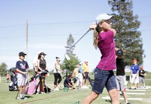 Children have fun while learning golf skills and life lessons