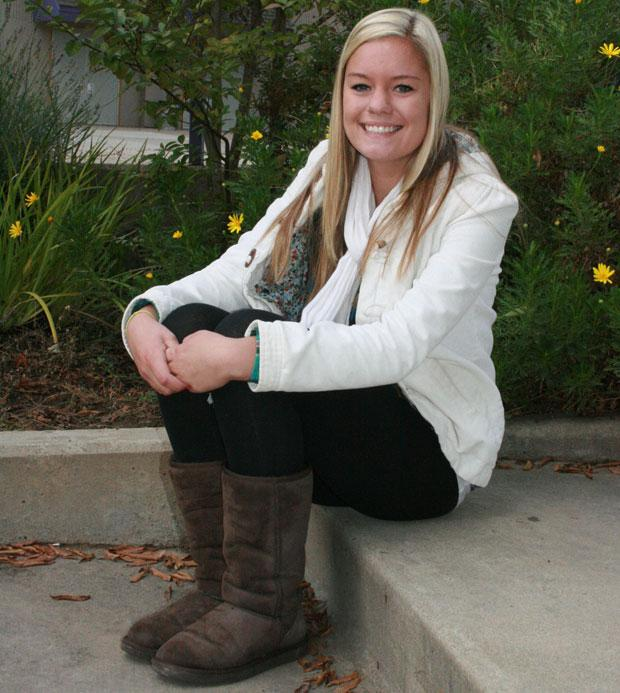 Tokay High School's Bailey Smith is making national news with her strong kick