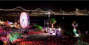 Big sounds and a big party join together at the Treasure Island Music Festival