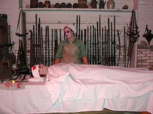 Get spooked at the Sutter's Fort haunted fort