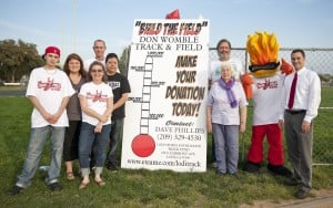 Ready to Womble 24-hour relay event to raise funds for new track at Lodi High School