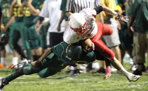 Flames trample the Yellowjackets