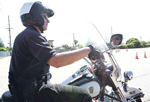 For Lodi motorcycle officers, driving slow is tough part